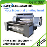 Cotton, Flax, Wool를 위한 대량 Production Industrial Inkjet Printer