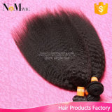 Yakiの直毛はRemyの未加工インドの毛の人間の織り方の毛を束ねる