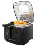 le mini boîtier 2L en plastique cuisent à la friteuse