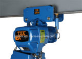 500kg Un Speed Electric Chain Hoist con Manual Crawl