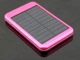 Aluminiumbewegliche Handy-Solaraufladeeinheit 5000mAh mit Plastik-Batterie