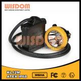 Lâmpada da cabeça da mineração da lâmpada do capacete do funcionamento do mineiro do diodo emissor de luz