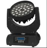 36PCS 10W RGBW 4 dans 1 lumière principale mobile de lavage de zoom de DEL (YG-M07)