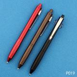 Penna fluente personalizzata di scrittura della penna di plastica di marchio su vendita