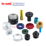 POM/医学のEquitmentのためのプラスチック鋼鉄CNCの回転部品