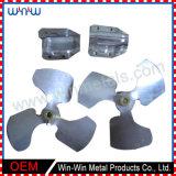 Benutzerdefinierte Größe verzinktem Stahlblech Drehen Biegen Metall-Stanzteile