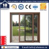 Ventana de cristal doble de aluminio/ventana de cristal Inferior-e