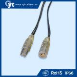 IP68 6 cavo impermeabile del connettore di Pin LED con il maschio ed il fermaglio