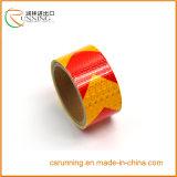 Intensidade elevada, película resistente impermeável, fria de PVC&Pet Refective