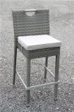 Giardino esterno Rattan Bar Table e Chair