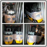 5.0 Tonne LPG und Benzin-Gabelstapler mit GR.-Motor-Doppelt-Kraftstoff-Gabelstapler