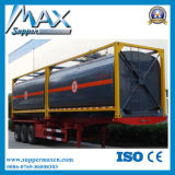 半低価格の高品質の容器の燃料のタンカーのトレーラー