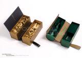 Embalaje de cartón corrugado negro de cartón