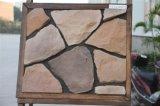 건축재료 벽 도와에 의하여 경작되는 돌 인공적인 돌 (YLD-90022)