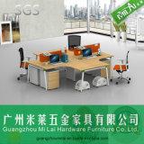 Muebles de oficinas fáciles de la partición de la oficina del nuevo diseño que ensamblan cruzado modular