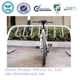 三角形の屋外の粉の上塗を施してあるバイクの駐車ラック