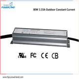 Al aire libre de tensión constante / corriente constante a prueba de agua LED conductor 80W 3.33A