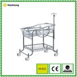 Hospital Furniture para Medical Stainless Steel Baby Stroller (HK502)