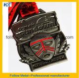 Медали марафона античной отделки с конструкцией 3D