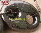 De elektronische Gegalvaniseerde Studless Gelaste Kettingen van het Anker van de Link