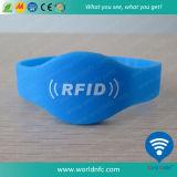 13.56MHz Ntag213 NFC de Manchet van het Silicone RFID