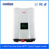 Met lage frekwentie van Gebruikte PV van het Systeem van de Macht van het Net Hybride naar huis Omschakelaar 12V/24V/48VDC aan 230VAC