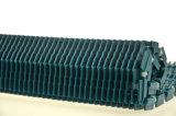 Glatter Betrieb Rasied Rippe PlastikModur Förderband