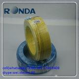 Fio elétrico amarelo 300/500V 0.75sqmm 1sqmm 1.5sqmm 2.5sqmm 4sqmm 6sqmm do PVC