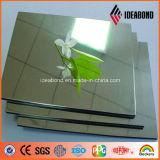 Paneling de alumínio do espelho de prata de Ideabond 3mm para a decoração ao ar livre do fornecedor de China
