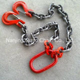 G80/G43/G70/G50/G100 High Test Lifting Steel Link Chain per Black Finished