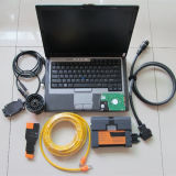 ラップトップの自動診察道具のスキャンナーとのBMW Icom A2 B Cのための専門家