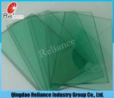 Glace en verre/r3fléchissante en verre de flotteur ultra clair/teinté/glace acide pour la construction