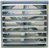 275 mg / M2 de galvanizado Espesor 380V / 3phase pared Extractor Montado