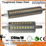 LED certificado CE R7s 78m m x 22m m 2016 el LED más nuevo R7s