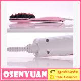 Nuevo cepillo de la enderezadora del pelo de la exhibición del OEM LCD del color