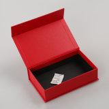 Rectángulo de empaquetado determinado del regalo de papel cosmético de encargo (QYZ376)