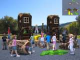 Kaiqi Media-ha graduato Playground secondo la misura Equipment Set di Prehistoric Series Outdoor Children con Slides e More (KQ10075A)