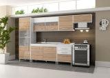 Projetos pequenos pequenos modernos da cozinha do armário de cozinha de Ritz