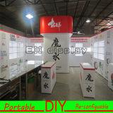 Feira profissional versátil portátil personalizada sistema da cabine da exposição de DIY