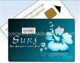 Bestes verkaufenprodukt 2016! Chip-Kontakt-PlastikChipkarte der Cmyk 4c Silk Bildschirmausdruck-weiße Karten-IS