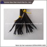 Estensione Nano dei capelli degli anelli dei capelli neri dei capelli umani del Virgin