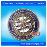 Insignia de revestimiento epoxi de esmalte suave Medalla de moneda de fuerza aérea para comemorativos