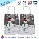 Impresión barata de la bolsa de papel del nuevo producto para los bolsos de compras de papel