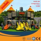 Малыши парк атракционов, скольжение спортивной площадки детсада большое