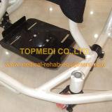O manual ao ar livre de alumínio de Topmedi ostenta a cadeira de rodas do basquetebol