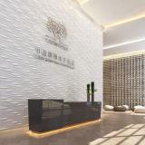 Instalaltion 쉬운 현대 PVC 3D는 벽 예술 미국을 깐다