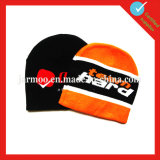Cappello acrilico del Beanie del jacquard lavorato a maglia abitudine
