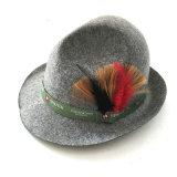 Sombreros de la gorrita tejida de las lanas del fieltro de la piel