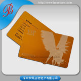 Drucken Plastic Membership Card mit Big Embossed Number