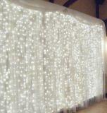 LEIDENE van de Decoratie van pvc van Kerstmis van de Lichten van Kerstmis het Licht van het In het groot Gordijn van het Koord